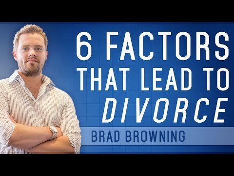 6 Factors That Lead To Divorce