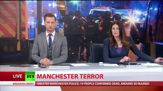 Terrorist attack at Manchester Arena, 19 killed & 50+ injured: RT