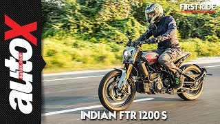 Indian FTR 1200 S First Ride Video Review