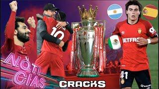"""El """"Messi mexicano"""" tiene claro con qué selección jugará. Dortmund cierra fichaje. Sarri no quiere hablar de Arthur. Despiden a jugador por usar así sus redes. Esto y más ¡AQUÍ!  Suscríbete gratis a CRACKS aquí: https://goo.gl/aK8cDH  ¡Síguenos en las redes!   ►TWITCH: https://www.twitch.tv/cracks_t ►TIKTOK: https://www.tiktok.com/@crackstok ►Twitter: https://twitter.com/cracks_oficial ►Facebook: https://goo.gl/s1Oene ►Instagram: https://www.instagram.com/cracks_ig/?hl=es  La entrevista completa a Luka Romero aquí: https://www.youtube.com/watch?v=1qo7Xi-DqVg&t=326s  ►Lo mejor del FÚTBOL MEXICANO en CRACKS MX: https://goo.gl/iFXBQv  ►CRACKS COLOMBIA: https://bit.ly/2MGJOV0  ►CRACKS ARGENTINA: https://bit.ly/2YiBU5C  ► Suscríbete a nuestro canal de FIFA, EA CACHO: https://bit.ly/31txwTj"""