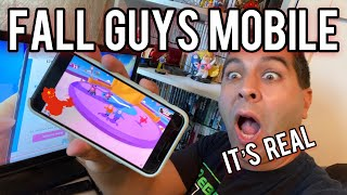 Fall Guys Mobile OFFICIALLY Coming to iOS/Android Phones... But There's a BIG Catch!