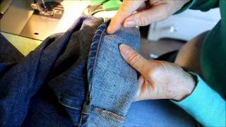 Hemming Jeans The Euro/Tricky Style