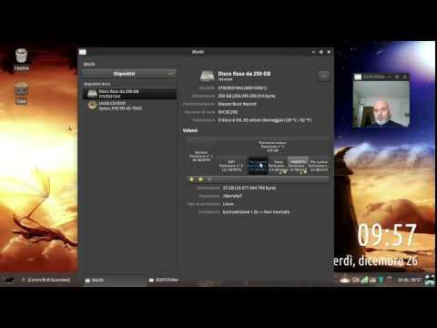 Gnome-Disk-Utility Per verificare lo stato del vostro disco fisso