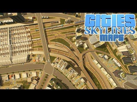 1200 OBJEKTE! 230.000 Einwohner - Community MAP Cities Skylines - denNes
