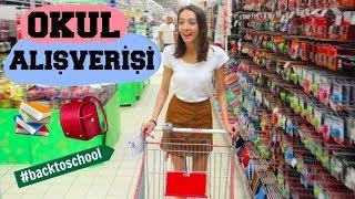 Okula Geri Dönüş Alışverişi! 2017