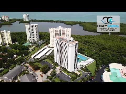 Pelican Bay Stratford Naples Florida 360 degree video fly over