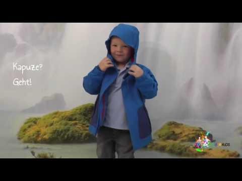 Vaude Kids Jacke  Campfire blau