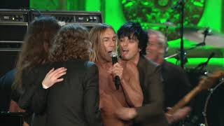 """The Stooges perform """"I Wanna Be Your Dog"""" at the 2010 Rock & Roll Hall of Fame Induction Ceremony"""