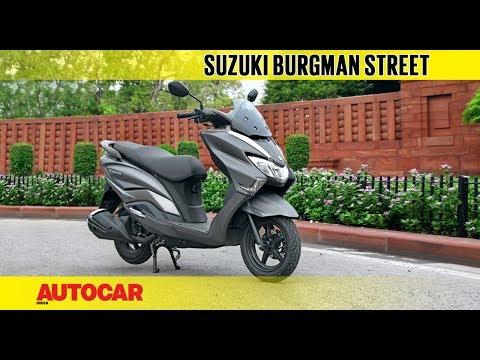 Suzuki Burgman Street | First Ride Review | Autocar India