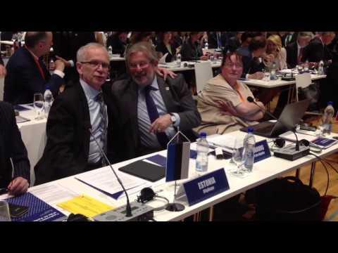 Riigikogu esimehe Eiki Nestori sõnavõtt spiikrite konverentsil Bratislavas, 24.04.2017