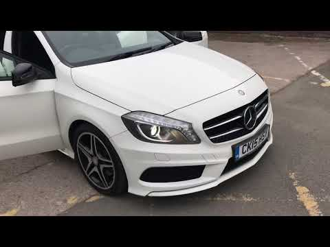 MERCEDES-BENZ A-CLASS 2.1 A220 CDI BLUEEFFICIENCY AMG SPORT 5DR SEMI AUTOMATIC