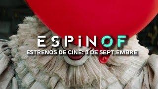 Estrenos de cine - 8 de septiembre