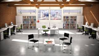 Workstations for small businesses by Commercial Design Control Inc