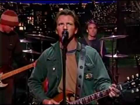Pearl Jam - I Am Mine - Letterman Nov 14 2002