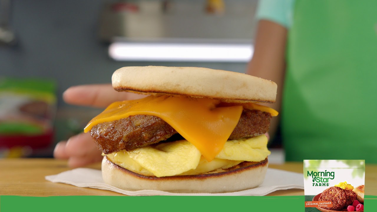 Morningstar Farms breakfast foods TV spot