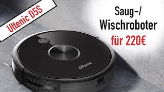SMARTER SAUG-/ WISCHROBOTER FÜR 220€!! ULTENIC D5S