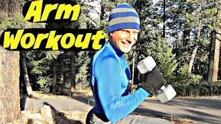 10 Min Home Arm Dumbbell Workout - Bicep & Tricep Exercises by SeanVigueFitness