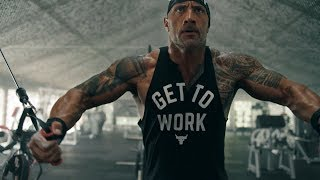 Dwayne Johnson: All Day Hustle