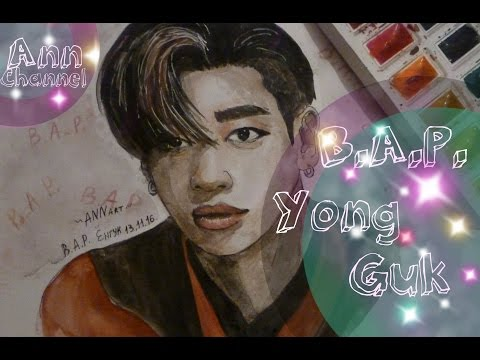Fan Art on Bang Yong Guk - B.A.P./Фан Арт на Бан Енг Гука - B.A.P.