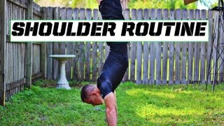 Intermediate Shoulder routine by Corey Hall
