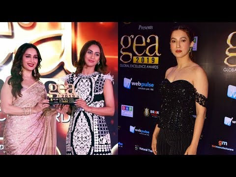 Madhuri Dixit, Gauhar Khan & Krystal Dsouza Grace The Red Carpet Of Global Excellence Awards 2019