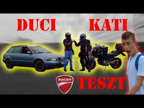 DUCI KATI teszt! \\ Ez egy NYERS ÁLLAT ! \\ Ducati MULTISTRADA