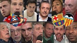 Reacciones Al BARÇA - VALENCIA Con El Chiringuito   FINAL COPA DEL REY