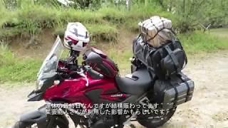 キャンプツーリング行って来た!熊本県小国町蔵迫温泉さくら編