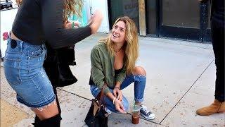 Mental Magic Trick With College Girls! Daniel Fernandez