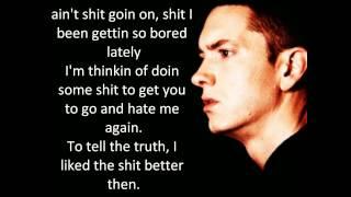 Fubba U Cubba Kubba - Eminem - Lyrics