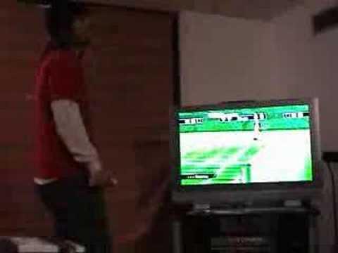 Dog Beats Man at Wii Tennis