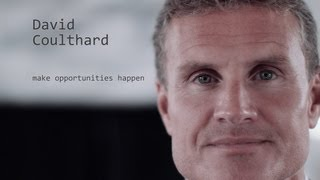 David Coulthard – make opportunities happen