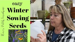 Winter Sowing Seeds for beginners (easy seed starting)
