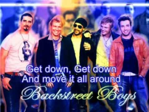 Backstreet Boys Getdown with lyrics