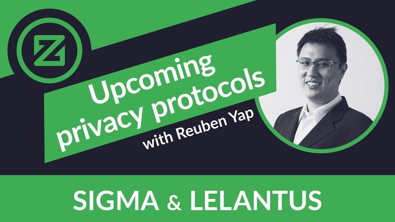 Zcoin's upcoming privacy protocols: Sigma and Lelantus