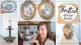 Thrifted Home Decor | Antique Thrift Haul | Vintage Farmhouse & French Country Shabby Chic Decor