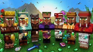 Everything You Need To Know About VILLAGERS In Minecraft!