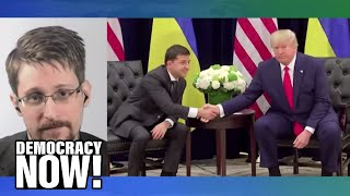 Edward Snowden Responds to Trump Impeachment Inquiry & Justice Dept. Lawsuit Against Him