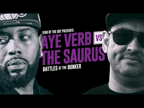 KOTD - Rap Battle - Aye Verb vs The Saurus | #BATB4