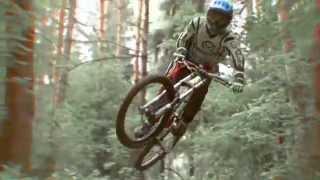 Спуски в лесу это не риально  Даунхилл на велосипеде в лесу как выдержит тот велик