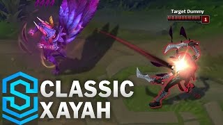 Classic Xayah, the Rebel - Ability Preview - League of Legends