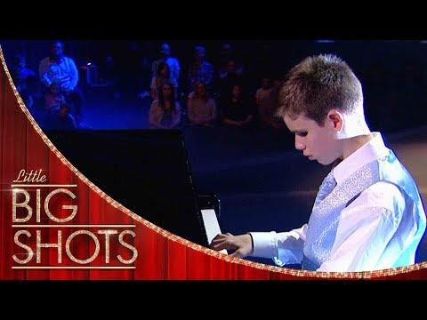 המופע המדהים של איתן לוץ' - פסנתרן עיוור בן 13