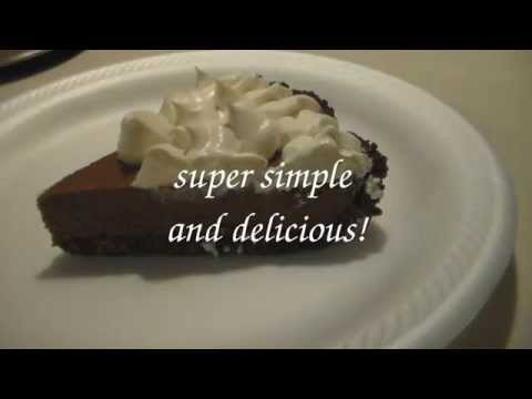 Video ice cream pudding pie