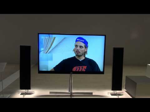 IFA 2014 - Loewe: Reference UHD 4K TV [Hands On]