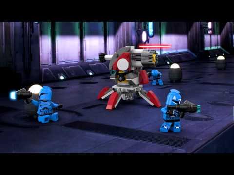 Lego Star Wars 75088 Senate Commando Troopers Battle Pack Bontatlan, Új!!!