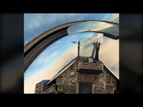 DCS / Digital combat simulator - formation flight in