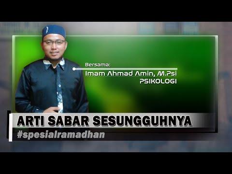 Arti Sabar Sesungguhnya | Spesial Ramadhan