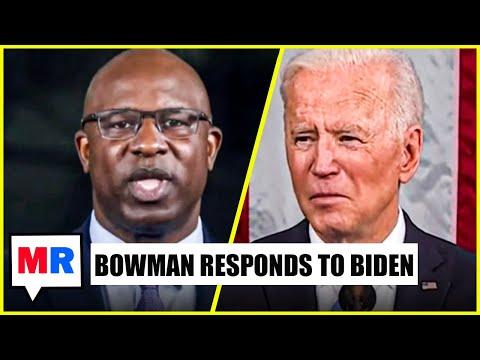Jamaal Bowman Responds to Biden's Speech