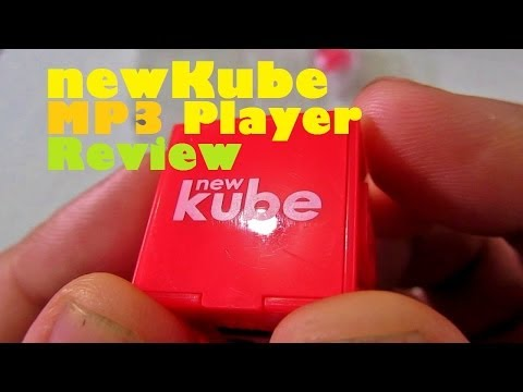 newKube MP3 Player Review – Small & Lightweight Music Player With 6 Hour Battery For PHP 1,599
