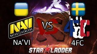 Na'Vi vs 4FC - Starladder S7 DoTA 2 Highlights